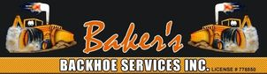 Baker's Backhoe Services Inc.
